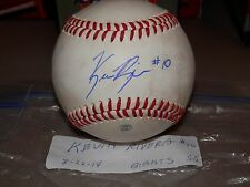 KEVIN RIVERA GIANTS ROOKIE AUTOGRAPHED GAME USED ARIZONA LEAGUE BASEBALL #2