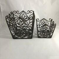 Southern Living At Home Rosedale Plant Holders Set Of 2 #40400