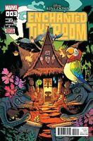 ENCHANTED TIKI ROOM #3  MARVEL COMICS COVER A 1ST PRINT  DISNEY