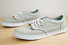 Vans Atwood Low Womens Girls Canvas Trainers Shoes Size UK 5 / EU 38 Green (KAF)