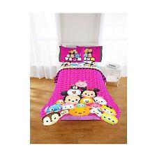 Disney Tsum Tsum Twin Full Reversible Comforter Kid Girl Bedding NEW NIP