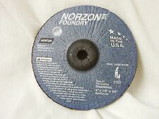 NEW 20 NORTON NORZON III FOUNDRY 4 X 1/8 X 3/8 GRINDING WHEELS #66243531505