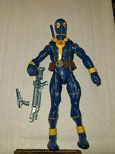 Marvel Legends Strong Guy Wave Blue And Yellow Costume Deadpook