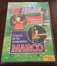 HEIDI CAMINO DE FRANKFURT - MARCO EL BARCO DE LOS EMIGRANTES - VOL 19 - DVD NEW
