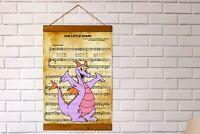 """Walt Disney Figment One Little Spark Sheet Music Art Canvas Print 11.8"""" x 8.7"""""""