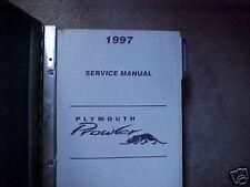 1997 Plymouth Prowler Factory Original Service Repair Manual