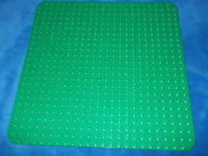 LEGO DUPLO leicht DEFEKTE GRÜNE Bauplatte Platte 38 x 38 cm Wiese Gras