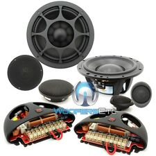 "ELATE 6 3W MOREL 6"" 3"" 1"" 3-WAY COMPONENT CAR AUDIO SPEAKERS MIDS TWEETERS NEW"