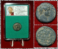 Ancient Roman Empire Coin Of HADRIAN Interesting Coin From COMMAGENE!