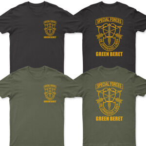 NEW Army Green Beret Special Forces T shirt