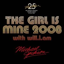 MICHAEL JACKSON / WILL I AM 'GIRL IS MINE 2008' 3-TRACK CD