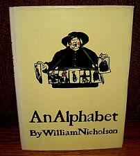 William Nicholson An Alphabet HC DJ Victorian Graphic Art Woodblock Prints