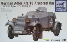 Bronco 35032 German Adler Kfz.13 Armored Car   1:35
