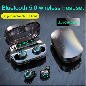 S11 TWS Earbuds Bluetooth Sports Earphones 3500mAh Power Bank HIFI Stereo Sound