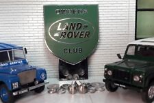 Front Panel Grille Metal Enamel Land Rover Owners Club Badge Series 1 2 2a 3