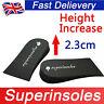 Unisex Light EVA Heel Lift Shoe Pads Increase Height Taller Heightening Insoles