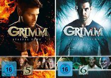 9 DVDs * GRIMM - SEASON / STAFFEL 5 + 6 IM SET # NEU OVP +