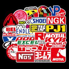 50PCS JDM Sticker Pack Motorcycle Racing Car Motocross Helmet Graffiti Decal Lot