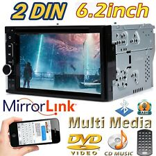 Brand New 6.2 inch Touch Screen Car Stereo Radio DVD CD MP3 Player 2 DIN USB US