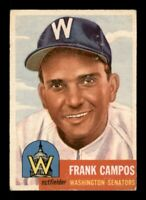 1953 Topps Set Break # 51 Frank Campos VG *OBGcards*