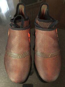 adidas x 17 + purespeed fg; Red/Black size 8