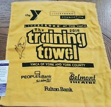 NICE Authentic Autographed Steelers Hines Ward Signed Training Towel JSA COA
