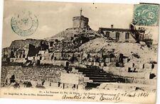 CPA  Le Sommet du Puy-de-Dome -Les Ruines et l'Observatoire  (220539)