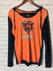 Chicago Bears Womens Apparel Sleepwear With Hood Large