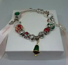 Pandora Christmas bracelet with European style Christmas charms
