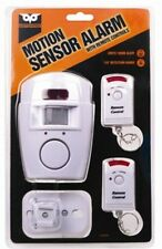 Hágalo usted mismo Kit Alarma Inalámbrica de sensor de movimiento PIR + Control Remoto Con Pilas Cobertizo