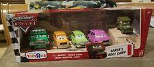 Disney Pixar Cars Sarges Boot Camp TJ, Murphy, Charlie, Frank, Sarge (RARE)