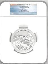 2014 P Shenandoah 5 oz Silver 25c SP 70 Early Releases NGC
