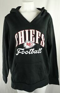 Kansas City Cheifs NFL Fanatics Women's Pullover V-Neck Hoodie