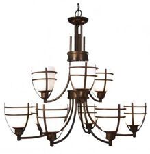 Decorative 9-light Entry / Foyer Chandelier in Oil Rubbed Bronze