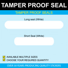 Tamper Proof Seals