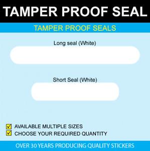 Tamper Proof Seals