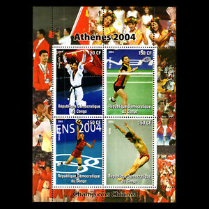 Congo 2004 - Summer Olympics Games - Athens s/s - MNH