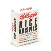 miniatura per casa delle bambole Rice Krispies SCATOLA