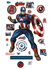 New ListingFathead Captain America Avengers Assemble Marvel Real Big Wall Decor 96-96158