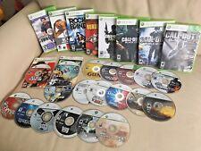 Lot of Xbox 360 Games (22) - Gta, GuitarHero, Halo3, Sports & More!