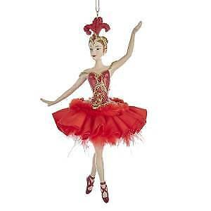 Fire Bird Ballerina Ornament w