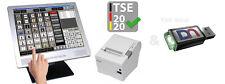 Gastronomie Touchscreen Gastro Kassensystem mit TSE Modul 2020