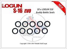 10 x Logun S16 Buddy Bottle O Ring Seals