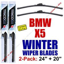 WINTER Wiper Blades 2-Pack Premium - fit 2007+ BMW X5 / X 5 / X-5 35240/200