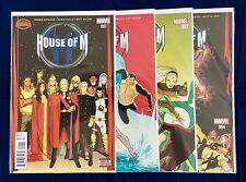 House of M #1 2 3 4 (Complete Set) - Nm High Grade Marvel Secret Wars Tie-In