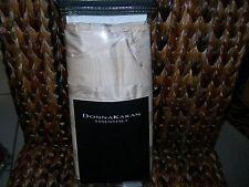 donna karan dkny city stripe esstentails king sham stone 100 silk nip rare