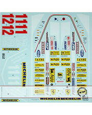 FULL SPONSOR DECAL for TAMIYA 1/12 FERRARI 312T4 VILLENEUVE SCHECKTER