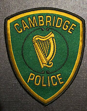 Cambridge Police Irish