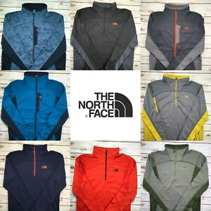 Men's The North Face 100 Cinder 1/4 Or Full Zip Pullover Lightweight S M XL XXL