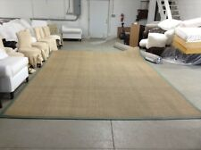 Ballard Designs Seagrass Indoor Area Carpet Rug Moss Border 10x14